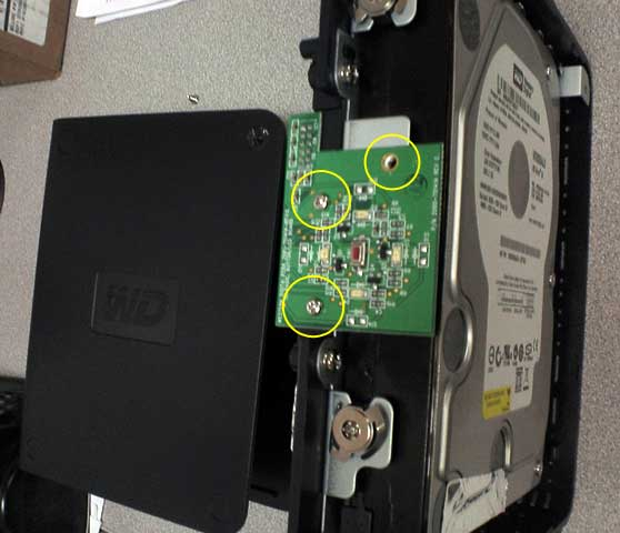 Western Digital MyBook Open Case Recover Data